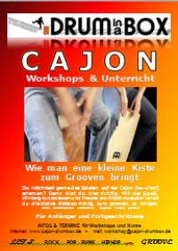 Cajon-Workshop Gutschein