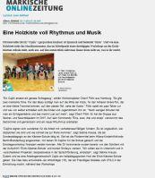 3 tägiger Cajonworkshop Lehrer / Schüler in Fürstenwalde